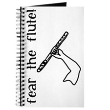 Fear the Flute, A Musician's Journal Black & White