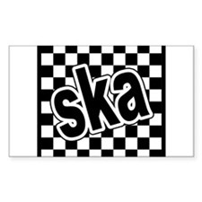 ska Rectangle Decal