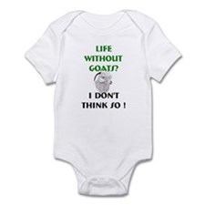 GOATS-Life Without Angora Infant Bodysuit