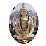 Lord Shankar statue, Bangalore, In Ornament (Oval)