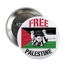 "Unique Free gaza 2.25"" Button"