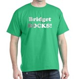 Bridget Rocks! Black T-Shirt