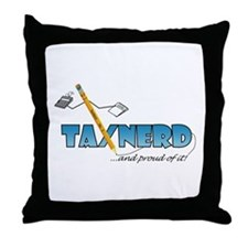Unique Tax Throw Pillow