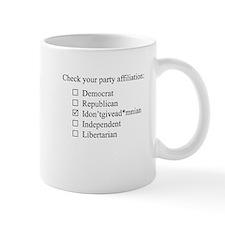 The Idontgivead*mnian party Mug