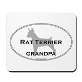 Rat Terrier GRANDPA Mousepad