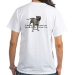 Pitbull White T-Shirt