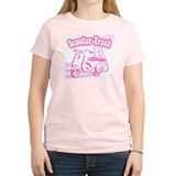 Scooter Trash Women's Pink T-Shirt