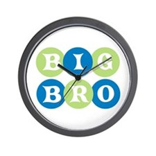 Big Bro Circles Wall Clock