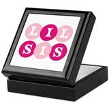 Lil Sis Circles Keepsake Box