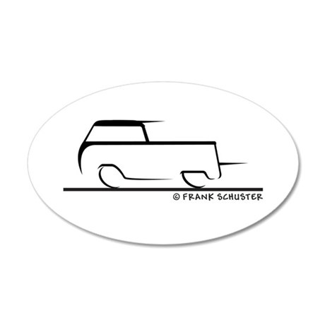 Speedy Crew Cab 20x12 Oval Wall Decal