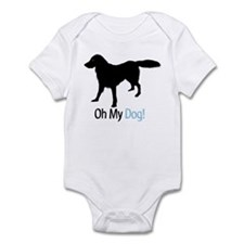 Flat Coated Retriever Infant Bodysuit
