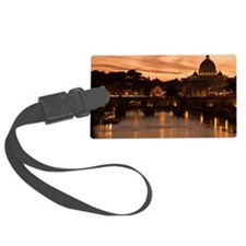Vatican at sunset, Rome. Italy Luggage Tag