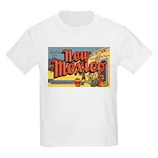 New Mexico Greetings Kids T-Shirt