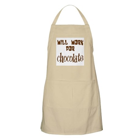Work for Chocolate BBQ Apron