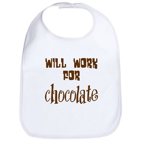 Work for Chocolate Bib
