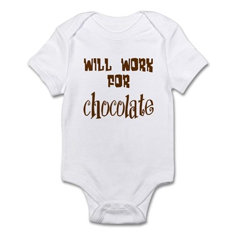 Work for Chocolate Infant Bodysuit