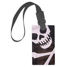 Close-up of pirate flag Luggage Tag