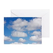 Cumulus Clouds Greeting Card