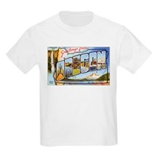 Oregon Greetings (Front) Kids T-Shirt