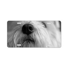 West highland terrier's nos Aluminum License Plate
