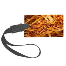 Needle in a hay stack Large Luggage Tag