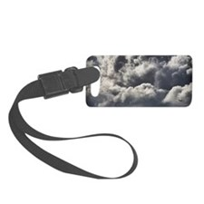 Plane with storm clouds Luggage Tag
