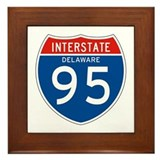 Interstate 95 - DE Framed Tile