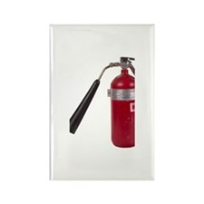 Red Fire Extinguisher Rectangle Magnet (100 pack)