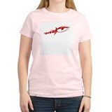 Red Rocket Women's Pink T-Shirt