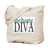 Debate Diva Tote Bag
