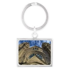 The Cathedral of the Madeleine. Landscape Keychain