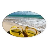 Flip flops in Punta Cana Decal