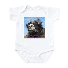 Llama Chow Infant Bodysuit