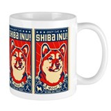 Obey the SHIBA INU! Coffee Small Mug