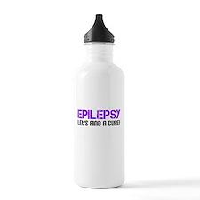 Epilepsy Lets Find A Cure! Water Bottle
