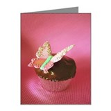 Chocolate cupcake with gooey Note Cards (Pk of 10)