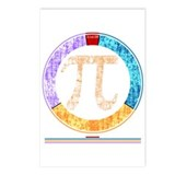 Pi Circle Postcards (Package of 8)