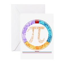 Pi Circle Greeting Cards (Pk of 10)