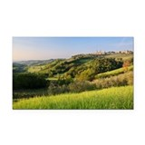 Medieval town of San Gimignan Rectangle Car Magnet