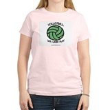 Volleyball LLL Women's Pink T-Shirt