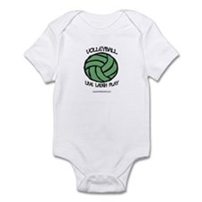 Volleyball LLL Infant Bodysuit