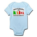 Irish &amp; French-Canadian Parts Infant Bodysuit