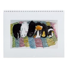Cute Art quilting Wall Calendar