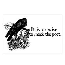 Poet Postcards (Package of 8)