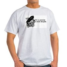 Poet Ash Grey T-Shirt