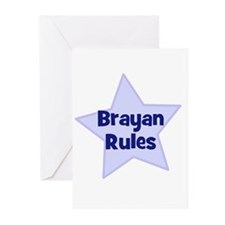 Brayan Rules Greeting Cards (Pk of 10)