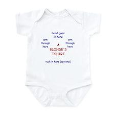 Brilliantly Blonde Infant Bodysuit