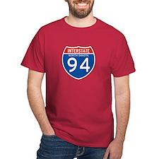 Interstate 94 - ND T-Shirt