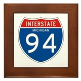 Interstate 94 - MI Framed Tile