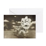 Chinese Lion Dance Greeting Cards (Pk of 20)